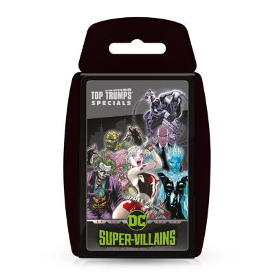Phillips Toys welcomes its latest exclusive pack of Top Trumps Card Game - DC Super Villains!