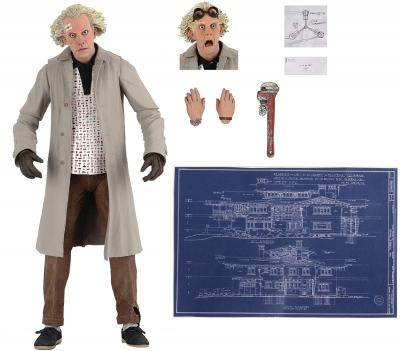 Great Scott! Neca Have Released Doc Brown from Back To The Future As An Action Figure!