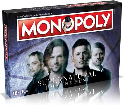Phillips Toys now has the Supernatural Monopoly board game in stock!