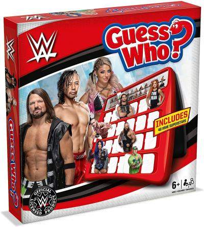 WWE Guess Who Board Game Now Available at Phillips Toys!