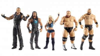 WWE Basic Series 117 Wrestling Action Figure Set Now Available At Phillips Toys